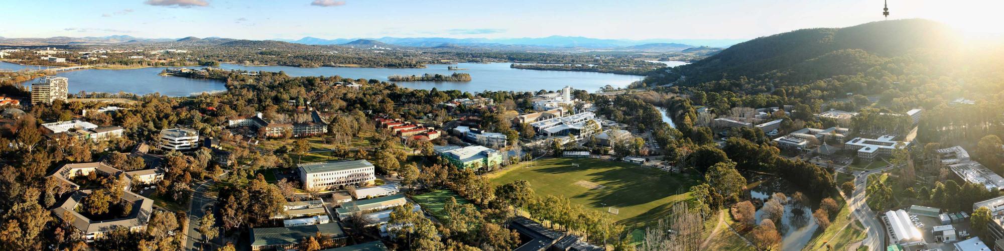 ANU Acton campus aerial photo