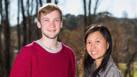Sam Guilfoyle and Ee Faye Chong