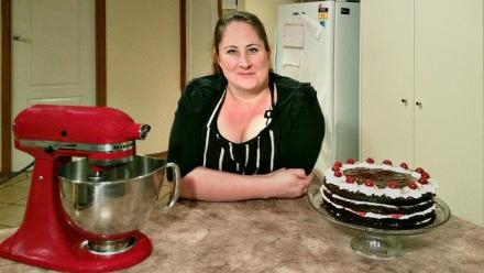 Andrea Butler, winner of last year's Twilight Festival Bake Off