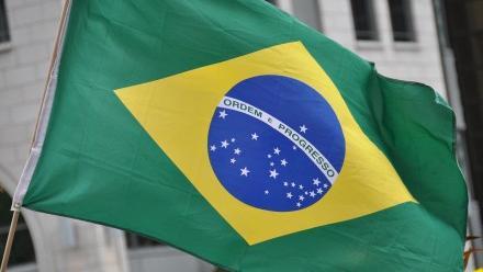 Photo of Brazilian flag