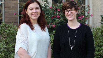GXT Vice-Director Katie Cox and GXT Director Catherine Gordon