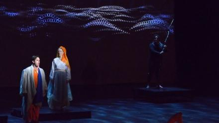 Stage shot from L'Orfeo