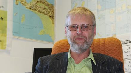 Professor Matthew Spriggs.