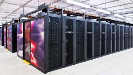 Photo of NCI's Raijin supercomputer