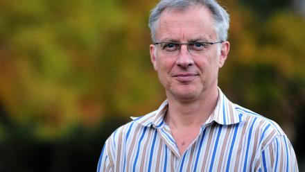 Professor Simon Rice is the head of a review into the ACT's discrimination laws