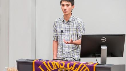Maths student Victor Wang