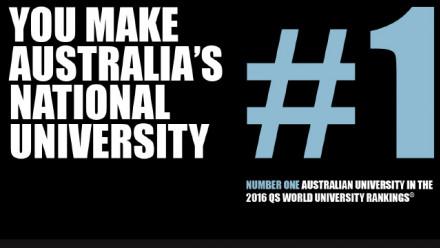 Number One Australian University in the 2016 QS World University Rankings