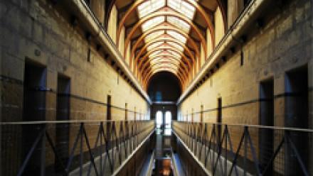 Photograph of a prison