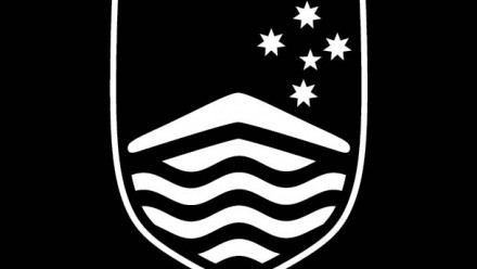 ANU shield on black