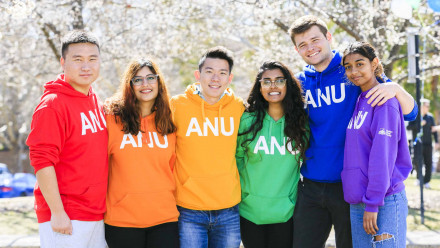 ANU students welcome you