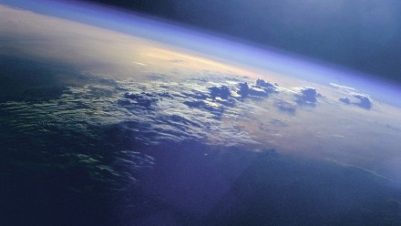 Photo of Earth taken from Space