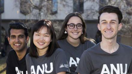 ANU Student Ambassadors welcome you to ANU