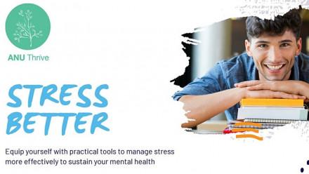ANU Thrive Stress Better banner image