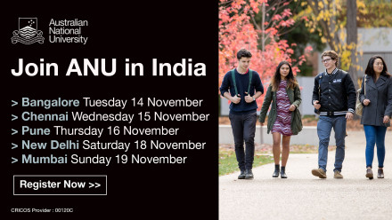 Join ANU in India