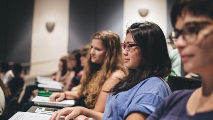 Students at ANU