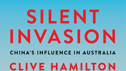 Cover of Clive Hamilton's book