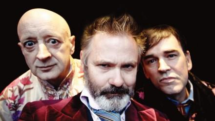 Paul Livingston, Paul McDermott and Tim Ferguson