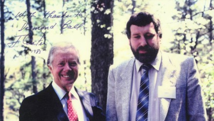 Picture of Jimmy Carter and Des Ball