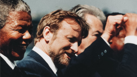 Nelson Mandela & Gareth Evans