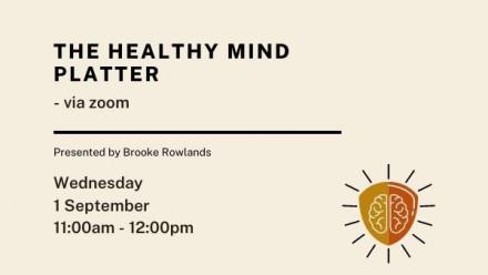 The Healthy Mind Platter details