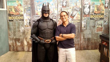 Kim Huynh and Batman