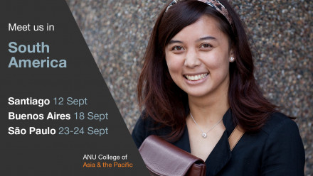 ANU College of Asia & the Pacific is coming to South America!