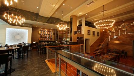 MXDC Restaurant Bar and Lounge area
