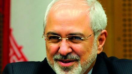 Portrait of Mohammad Javad Zarif