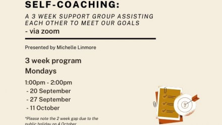 Self-Coaching event details