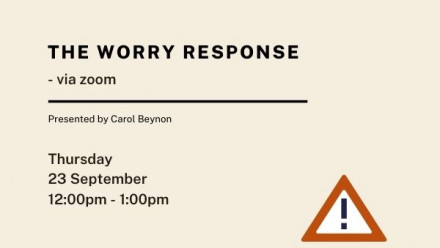 The Worry Response event details