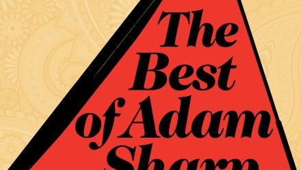 Front cover of book - 'The best of Adam Sharp'