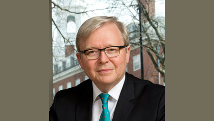 The Hon Dr Kevin Rudd