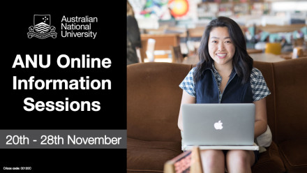 ANU Online Information Sessions