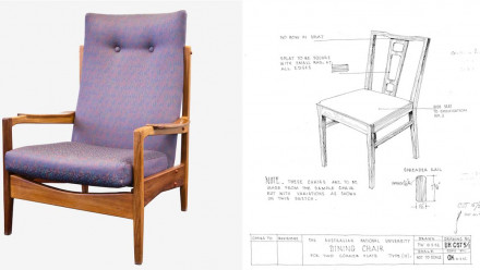 1960's ANU office chair