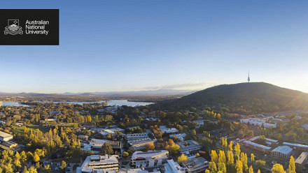 A landscape photo pof Canberra