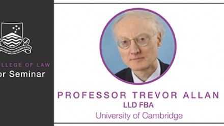Professor Trevor Allan LLD FBA, University of Cambridge