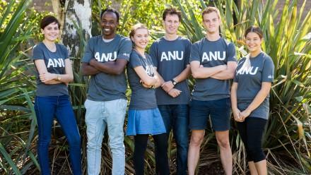 ANU current student ambassadors