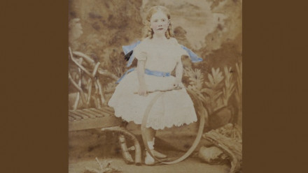 Portrait of Mary Beauchamp, c. 1869 (David Norton family archive)