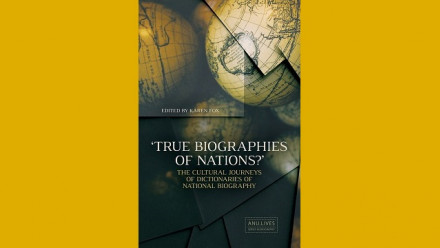 Book cover 'True Biographies of Nations?'
