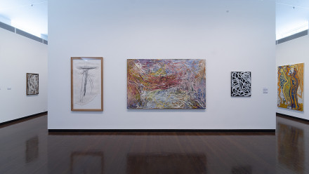 Install image of Hassall Collection, Drill Hall Gallery 2019, Rob Little