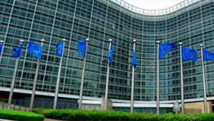 Photo of EU flags