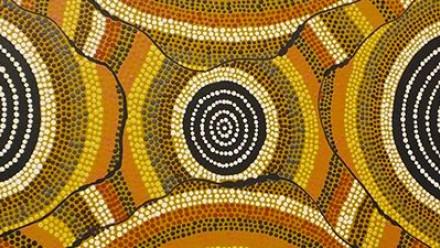 William Sandy's Emu Dreaming at Kanpi (1989)