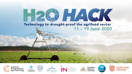 H20 Hack: technology to drought-proof the agrifood sector