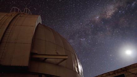 "Mt Stromlo 74"" Telescope at Night"