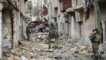 International Mine Action Center in Syria (Aleppo)