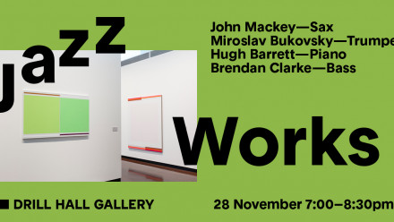 Jazz works in the gallery