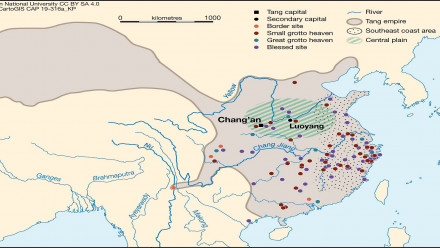 Sima Chengzhen & his Daoist sacred geography in the Tang Dynasty