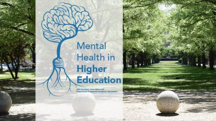 Mental Health in Higher Ed Banner