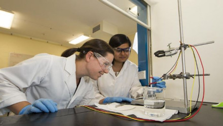 Dr Fiona Beck and PhD student Astha Sharma