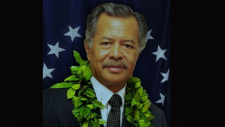 The Hon Henry Tuakeu Puna, Prime Minister of the Cook Islands
